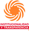 Logotio INSTITUCIONALIDAD Y TRANSPARENCIA