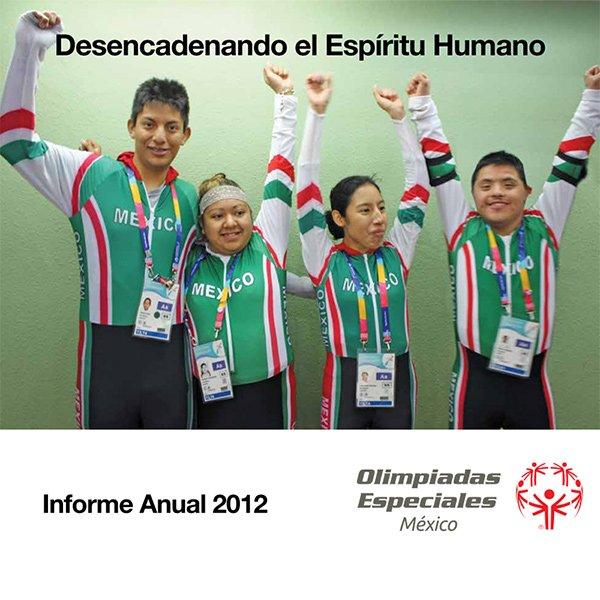 Olimpiadas especiales informe 2012