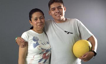 Atletas discapacidad intelectual pablo lazaro