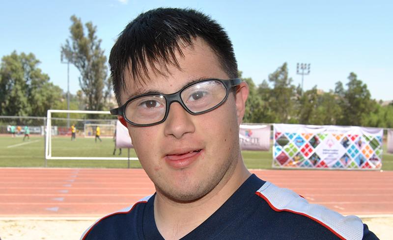 Atletas discapacidad intelectual ricardo rios