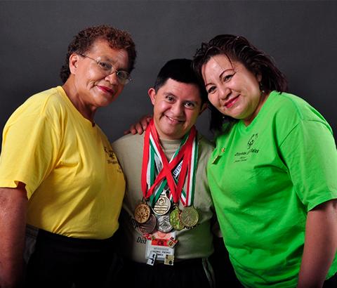 Familias de personas con discapacidad intelectual