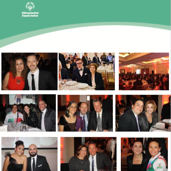 Olimpiadas especiales cena de gala 2015